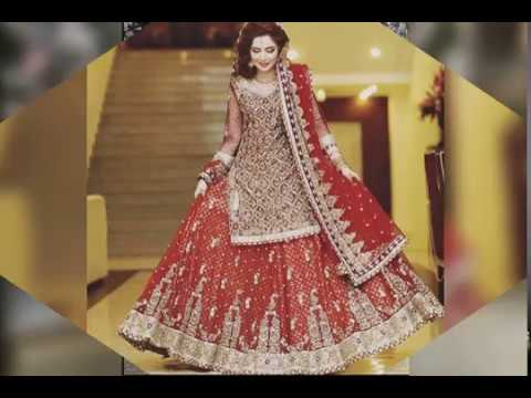 Latest Beautiful Dulhan Dresses 2016-2017