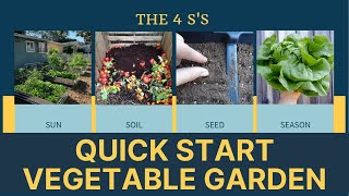 How To Start A Vegetable Garden | Central Florida Gardening 101 for Self Sufficiency