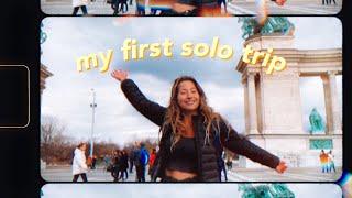 I Backpacked Solo Through Europe! | Amsterdam, Prague, Budapest