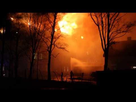 Brann i asylmottak i Rjukan