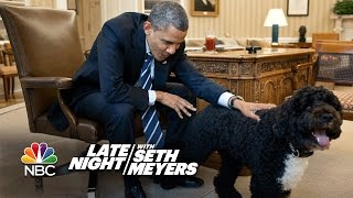 Seth Puts A Camera On Obama's Dog Bo