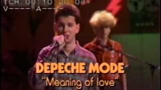 Depeche Mode - The meaning of love - RodrigoDM