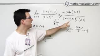 Limita funkce - sinus lomeno polynom 7.12.2016