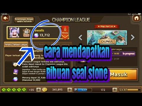 Video Trik Cara mendapatkan Ribuan seal stone(lets getrich)