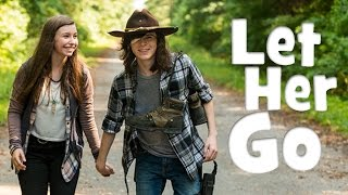 Carl and Enid | Let Her Go | The Walking Dead [Music Video]