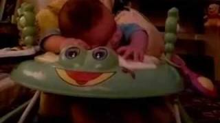 preview picture of video '4 month Sleepy Baby on his Baby Walker  ... My ZAIN ...'