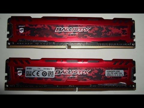 16GB Crucial Ballistix Sport RAM - AMD Ryzen Tauglichkeit