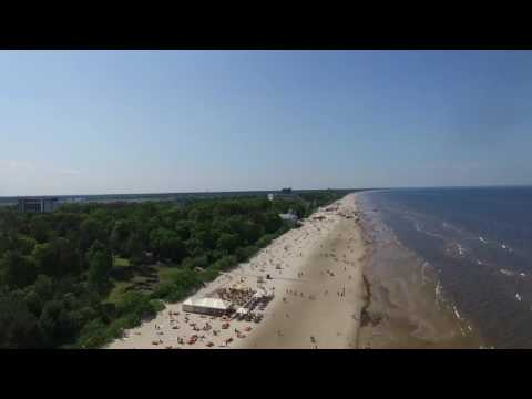 A bird's eye view on Jūrmala