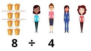 Introduction To Division   Basic Math Learning Video For Kids