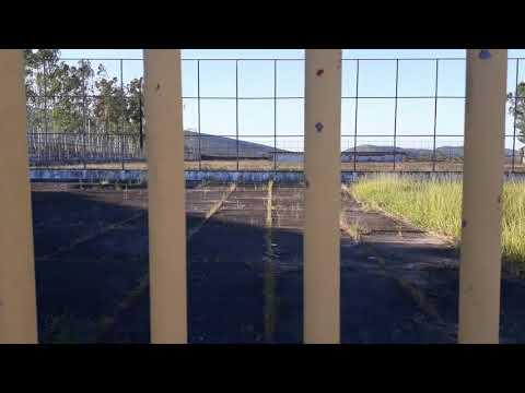 Estadio De Futebol De Areia Branca Abandonado... triste realidade