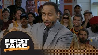 Stephen A. on LeBron getting swept: 'You can't be a king without a crown' | First Take | ESPN