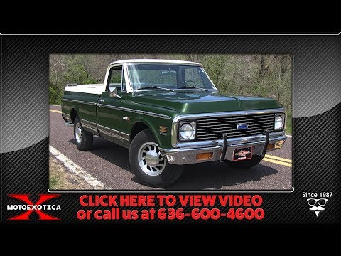 Video of '71 C20 Fleetside - NC3N