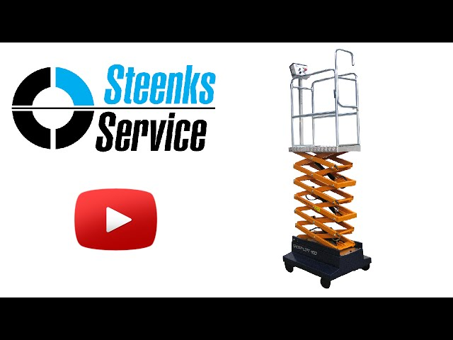 YouTube video | Pipe rail trolley Short Lift 285 Steenks