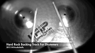 Hard Rock Backing Track for Drummers