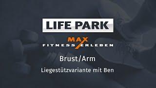 Training mit Ben 07 – Brust/Arm – Liegestützvariante