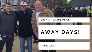 On the road again   It's West Ham away