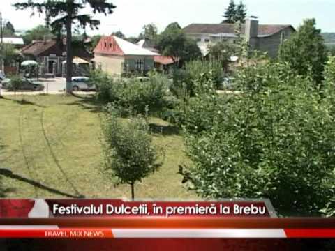 Festivalul Dulceţii, în premieră la Brebu – VIDEO