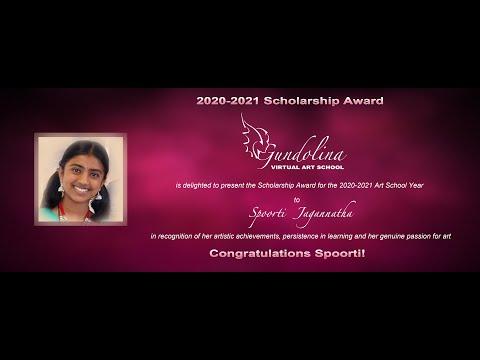 Scholarship Award 2020-2021 Art School Year