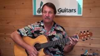 James River Blues - Old Crow Medicine Show - Guitar Lesson