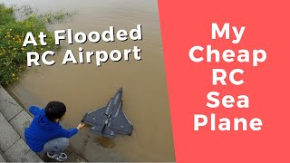 My Old RC Sea Plane Flight From Flooded RC Airport