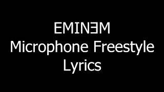 Eminem - Microphone. (Lyrics)
