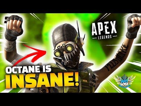 Apex英雄 新英雄Octane 實在太扯啦!!