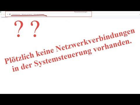 Netzwerkadapter werden nicht angezeigt.