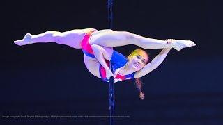 Worlds BEST Pole Dancer, World Pole Sport Champion 2015 WINNER - Galina Musina RUSSIA
