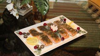 Как приготовить СОЧНУЮ красную рыбу ГОРБУШУ в духовке