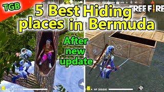 Free Fire Hiding Places In Bermuda | Free Fire Tricks Tamil | TGB