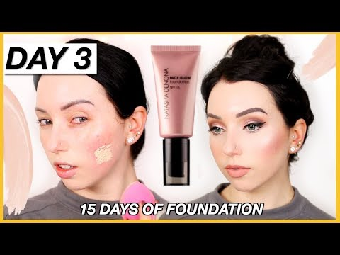 Hmmm…NATASHA DENONA FACE GLOW FOUNDATION! {First Impression Review & Demo!} Dry Skin