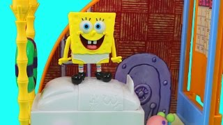 Spongebob Squarepants Spongebob's Bedroom&The Krusty Krab Sets