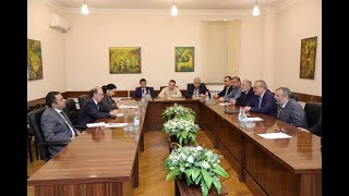 Foreign Minister Ara Aivazian met with the President of the National Assembly of Artsakh