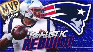 Cam Newton New England Patriots Rebuild | MVP Cam Is BACK | Madden 20 Franchise Mode