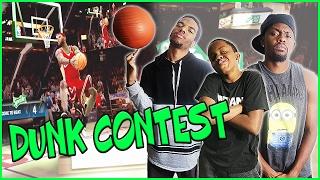 MAV3RIQ FAM 2017 SLAM DUNK CONTEST! - NBA Live 09 All-Star Weekend Gameplay