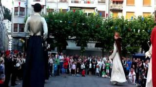 preview picture of video 'Gigantes de Deba en Eibar 2011'