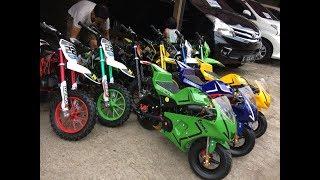 Motor Mini GP, Trail dan Aki
