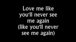 Alicia Keys   Like You'll Never See Me Again