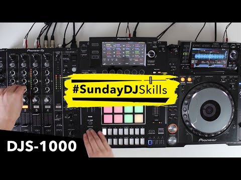 Pioneer DJS 1000 Performance Mix – Experimenting With Techno House Kit