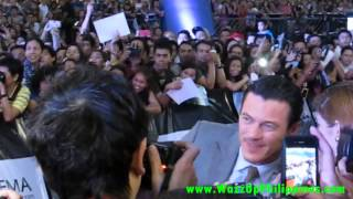 fast and furious 6 movie red carpet philippine premiere Luke Evans