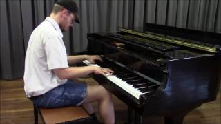 Here I Am/Racing With The Eagle Full Version  Advanced Piano Arrangement