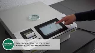 LAB X5000 HITACHI - Πώς να Εξάγετε μια Αναφορά Βαθμονόμησης