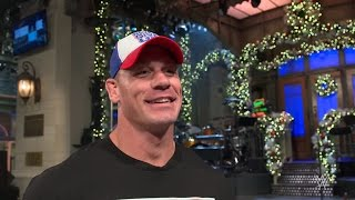 "John Cena feels the pressure of hosting ""Saturday Night Live"""