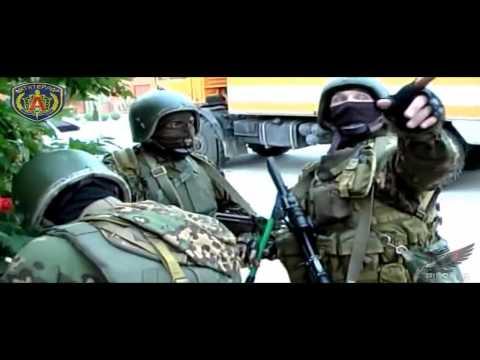 Офицеры ЦСН ФСБ (Группа Альфа) - Буква А