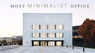 THE WORLD'S MOST MINIMALIST OFFICE  // tour