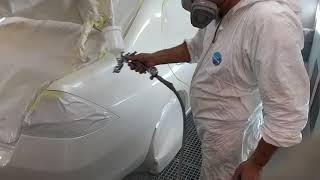 Anest İwata W 400 VBX 1 3 Classic & Honda Accord Clear Coat