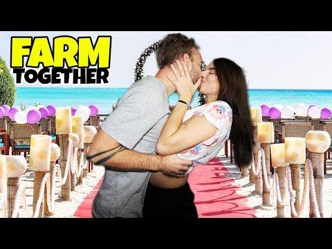 PŘÍPRAVA NA MANŽELSTVÍ?! - Farm Together w/ Lucka #2