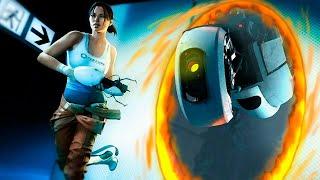 Portal 2 - Гонки С Портальной Пушкой!