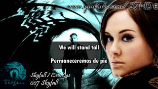 Adele - Skyfall HD Lyric Video Subtitulado Español English Lyrics