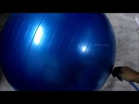 NIVIA  Anti Burst Yoga / Exercise / Gym Ball - AB580